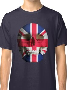 UK Flag Union Jack Skull Classic T-Shirt