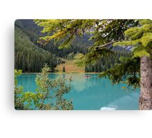 Emerald Lake British Columbia Canvas Print