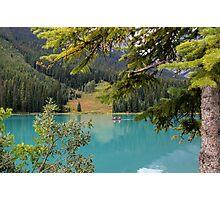 Emerald Lake British Columbia Photographic Print