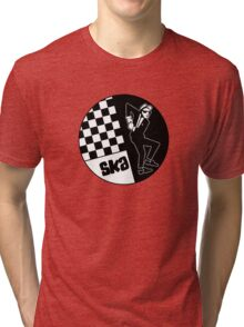 Ska Music Man Tri-blend T-Shirt