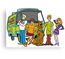 Scooby Team Canvas Print