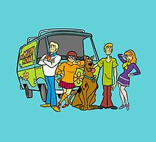 Scooby Team by welovevintage