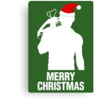 Daryl Dixon Christmas Design (Light) Canvas Print