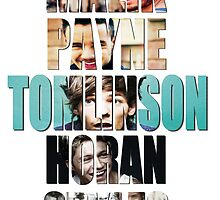 Poster One Direction by paynemyheart