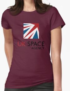 UK Space Agency Logo Womens Fitted T-Shirt