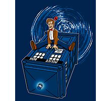 How I learned to love the Tardis. Photographic Print