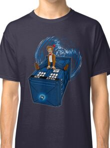 How I learned to love the Tardis. Classic T-Shirt