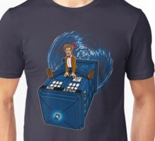 How I learned to love the Tardis. Unisex T-Shirt