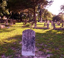 Oldest Cemetery Artistic Photograph by Shannon Sears by twobrokesistas
