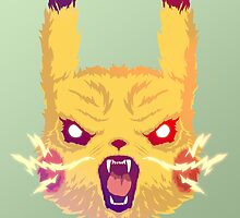 Voltage Pikachu by HeadGlitch