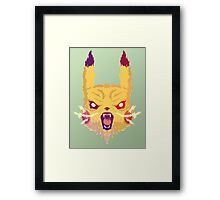 Voltage Pikachu Framed Print