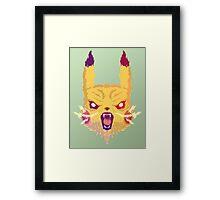Voltage Pikachu Framed Print