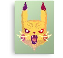 Voltage Pikachu Canvas Print