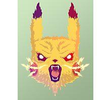 Voltage Pikachu Photographic Print
