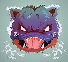 Raging Blastoise by HeadGlitch