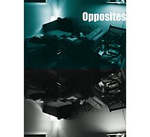 Gamers Paradise Opposites Photographic Print