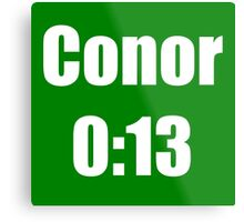 Conor McGregor 0:13 - UFC 194 Metal Print