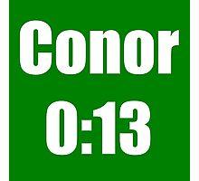Conor McGregor 0:13 - UFC 194 Photographic Print
