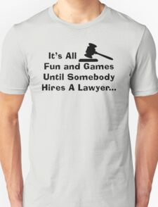 Fun and Games (blk) T-Shirt