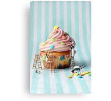 Building better birthday cakes Canvas Print