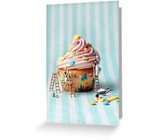 Building better birthday cakes Greeting Card