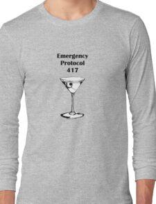 Emergency Protocol 417 Long Sleeve T-Shirt