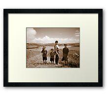 Family Memories Framed Print