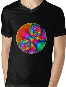 Beautiful Rainbow Spiral For Apparel  Mens V-Neck T-Shirt