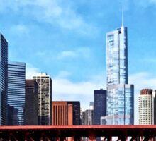 Chicago IL - Lake Shore Drive Bridge Sticker