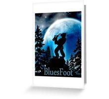 BluesFoot Greeting Card