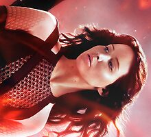 Katniss Everdeen The Hunger Games Catching Fire by gracedawson