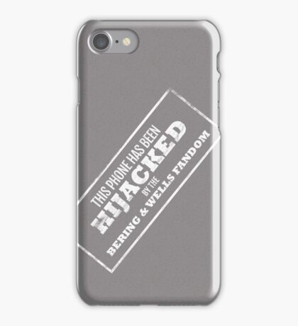 Hijacked by Feels - Dark Grey iPhone Case/Skin
