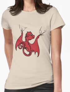 Red Baby Dragon Rider T-Shirt