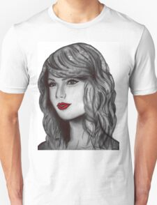 Taylor Swift Digital Portrait T-Shirt