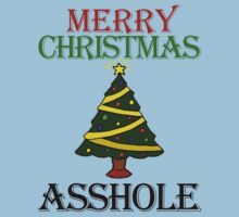 Merry Christmas Asshole by Skylar Stickley