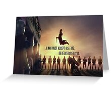 Spartacus-quote Greeting Card