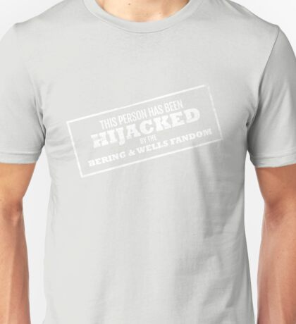Hijacked by Feels - White Unisex T-Shirt