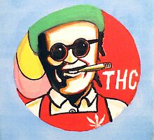 THC get fried painting by mouseman