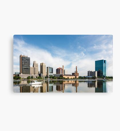 Toledo Ohio City Skyline Canvas Print