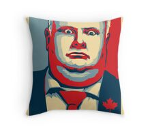 Rob Ford - CRACK Throw Pillow