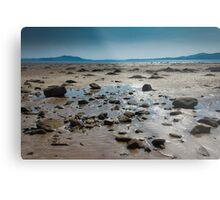 Buncrana Beach, Co Donegal Metal Print
