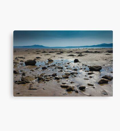 Buncrana Beach, Co Donegal Canvas Print