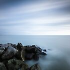 300 second exposure, Eastbourne seafront by willgudgeon
