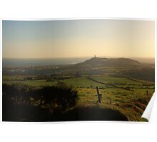 View From Cairngaver Poster