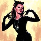 Retro Catwoman by Chris Wahl