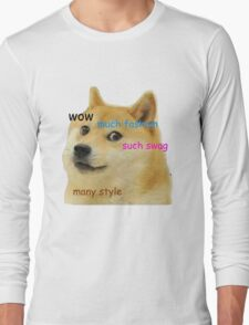 Doge T-Shirt Long Sleeve T-Shirt