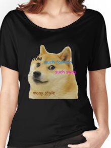 Doge T-Shirt Women's Relaxed Fit T-Shirt