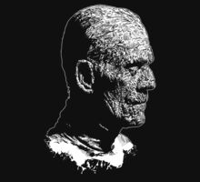 Boris Karloff- The Mummy - Frankenstein - Universal Monsters (Hand Drawn) by James Ferguson - Darkinc1
