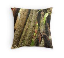 Walking Tree Throw Pillow