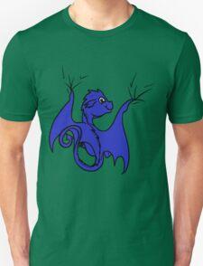 Blue Baby Dragon Rider T-Shirt